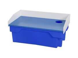 Vis fileerbak - 60 liter - 820 x 460 x H 390 mm