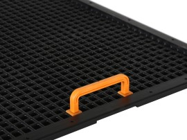 Variogrid handgreep - voor producttrays - H 28 mm